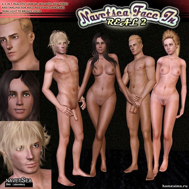 Nude Skins Sims 3